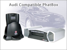 Audi and Volkswagen Will Offer PhatNoise Digital Car Audio System as New Car Option